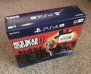 Empty Box For Red Dead Redemption 2 Sony Ps4 Pro 1tb No Consolebox Only