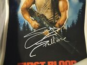 Rambo Giclee Print Poster Signed Sylvester Stallone And Struzan Official Pix Rocky