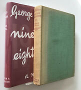 Nineteen Eighty-four, By George Orwell, 1950 First Uk Edition, Early Print 1984