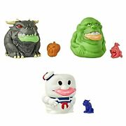 Ghostbusters Ecto-plasm Ghost Gushers 3-pack Collectible Squeezable Figures W...