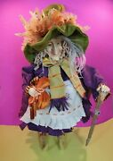 2 Foot Tall Krinkles Witch W Baby Dragons Doll Figure Patience Brewster Dept 56