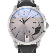 △ Maurice Lacroix Pontus Off Center Pt6318 Moon Phase Automatic Mens N103981