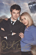 David Tennant As The 10th Doctor - Doctor Who - 8x12 Genuine Autograph