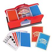 Deluxe Card Shuffler For Blackjack Uno Poker Quiet Easy To Use Manual Card