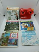 Viewmaster With 15 Vintage Reels Robin Donald Scrooge Chip Dale Land Of Lost