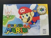 Super Mario 64 Players Choice Edition Near Mint Condition
