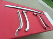1961 1962 Chevrolet Impala Ss Convertible Header And Side Windshield Trim Restored