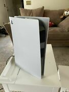Sony Ps5 Console Digital Version - White As Is For Parts Or Repairs Only