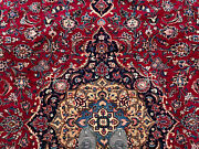 10x13 Red Antique Wool Rug Hand-knotted Vintage Handmade Oriental 10x12 9x13 Ft