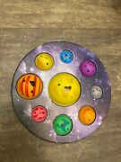 Solar System Galaxy Dimple Push Pop Bubble It Sensory Toy Simple Stress Relief