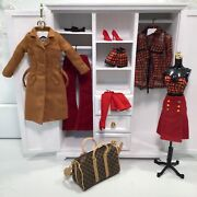 Mixed Lot For Silkstone And Fr Doll Dressmaker Details Couture And Highland Fling