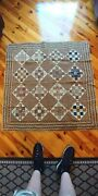 Antique Handmade Baby Quilt - Made In 1851 From Chambersburg Pa Estate