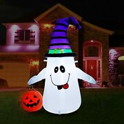 4ft Christmas Inflatable Gingerbread Man Light Up Outdoor Yard Air Blown Decor