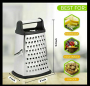 Professional Stainless Steel Box Grater Best For Cheese Carrot Vegetable
