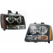 Fits Chevy Truck Avalanche Headlight Assembly 2007-2013 Pair Capa Certified