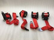 Mercedes G63 Amg W463 Edition 463 Red Seatbelt Set Of 4 Designo Package G65 G550