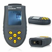 Digital Laser Tachometer Lcd Rpm Test Small Engine Motor Speed Gauge Non-cont...