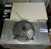 Used Outdoor 8x10 Walk-in Cooler Refrigeration Package Condenser Coil Evaporator