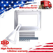 Universal Billet Battery Tray Hold Down Relocation Mount Holder Trunks 3/8 D34m