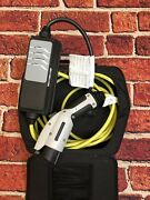 Delphi Level 1 Ev Charger Bmw I3 And I8 And Almost All Other Plug In Cars New W/bag