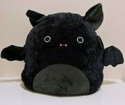 Squishmallows Official Halloween 16 Emily The Black Bat Plush Doll Toy