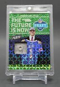 2018 Josh Allen Panini The National Card Show Rookie Rc Prime Patch Serial 5/5