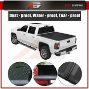 Solid Hard Tri-fold Tonneau Cover For 2015-21 Chevy Colorado/ Gmc Canyon 5and039 Bed
