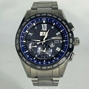 Used Seiko Astron 5th Anniversary Limited Model 3rd Sbxb145 8x42-0aa0 From Japan