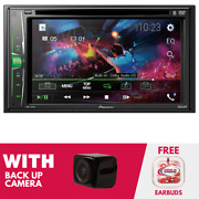 Rfrb Pioneer Avh-221ex 6.2 Inch Multimedia Dvd Receiver With Backup Camera