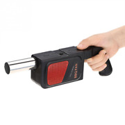 Electric Bbq Smoker Air Blower Fast Fire Starter For Charcoal Grills Tailgating