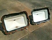70 Mustang Tail Lights Lenses Taillights Lh Rh Oem Used Parts 1970 Fastback Mach