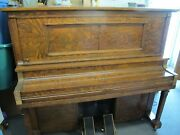 Antique Player Piano Upright Grinnell Brothers 1923 - Works