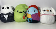 Squishmallow The Nightmare Before Christmas Kellytoys Jack Sally Zero And Oogie