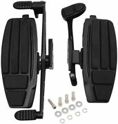 H-ruo Driver Foot Boards Motorcycle Rider Floorboard Kit Comp Honda Valkyrie New