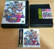 Waku Waku Seven 7 Neo Geo Aes Original Jap Rare Complete And In Exc Cond
