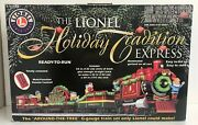 Lionel G Gauge Holiday Tradition Express Around The Tree Train Set 7-11000