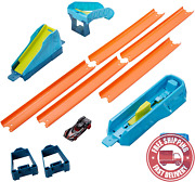 Hot Wheels Track Builder Pack Assorted Curve Kicker Pack Connecting Sets Ages 4