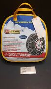 Les Schwab Quick Fit Diamond Tire Snow Chains Stock 1555-s New Never Used