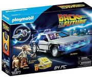 Playmobil / Back To The Future - Voiture Delorean Dmc 12 - 100 New / Neuf
