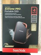Sandisk Extreme Pro Portable Ssd 4tb/to - Up To 2000 Reading/writing