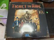 Ticket To Ride 10th Anniversary Edition Board Game- Free Postage Within Aust
