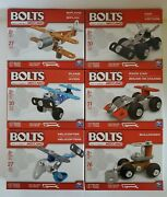 Bolts From The Makers Of Meccano Set Of 6 Building Erector Brand New Sealed
