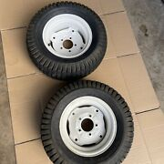 2 Craftsman Gt5000 Riding Lawn Mower - Turf Saver Rear Wheel And Tire 23x10.50-12