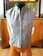 New Schaefer Outfitter Womans Cheyenne Wool Vest. Med.
