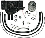 Jagg Black Low Mount Horizontal 10 Row Fan-assisted Oil Cooler Harley 751-fp2500