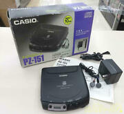 Casio Portable Cd Player Pz-151 5091031636at X-08