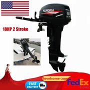Hangkai 2 Stroke 18hp Outboard Motor Engine Fish Boat Cdi Water Cooling System