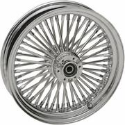 Drag Specialties 0203-0606 Laced 60 Spoke Front Wheel - 18x3.5 Chrome