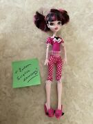 Monster High 11 Doll Daughter Of Dracula Draculaura Dead Tired Lot