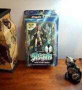Todd Mcfarlane's Spawn Deluxe Action Angela Figure Weapon Black Loincloth Varian
